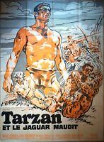 Plakat Kino Tarzan Und Le Jaguar Cursed - 120 X 160 CM