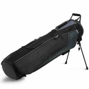 Callaway Double Strap Plus Golf Pencil Carry Bag 2020 - Black/Charcoal