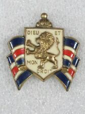 WWII Home Front - Bundles for Britain, British War Relief Society pin