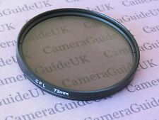 CPL 72mm Polarising Filter For Panasonic,Sigma,Samsung,FujiFilm,Nikon,Sony Lens