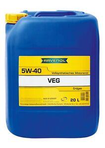 RAVENOL VEG SAE 5W-40 20 L