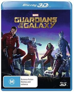 Guardians of The Galaxy 1 : NEW 3D Blu-Ray