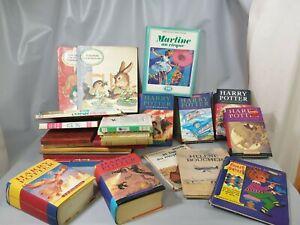 Lot LIVRES Theme Enfant Jeunesse Harry Potter Martine JK Rowling collection D5