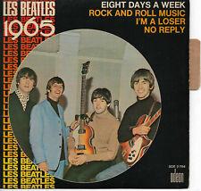 LES BEATLES 1965 EP 45 Tours Languette Odeon Beat Pop