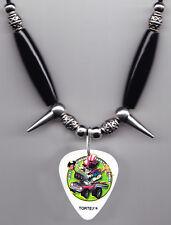 5 Five Finger Death Punch Zoltan Bathory Signature Guitar Pick Necklace - 2013