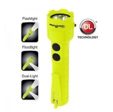 Nightstick Intrinsically Safe Permissible Dual-Light Flashlight W/ Dual Magnet