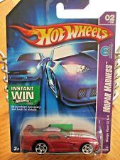 HOT WHEELS VHTF 2006 MOPAR MADNESS SERIES DODGE VIPER GTS-R