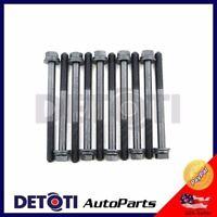 Cylinder Head Bolts For 1996-2000 Honda Civic 1.6L I4 SOHC D16Y5 D16Y7 D16Y8