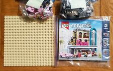 LEGO CREATOR EXPERT 10260 DOWNTOWN DINER - WITH MANUAL COMPLETE