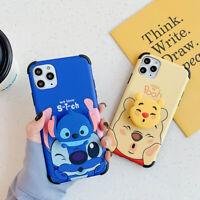 Cartoon Disney Stitch Soft Phone Case Cover For iPhone 11 Max X XR Xs 7 8 Plus