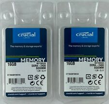 Crucial 32GB Kit (16GBX2) DDR4-2400 SODIMM Laptop Notebook  CT2K16G4SFD824A