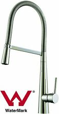 NEW WELS Watermark Spring coil pull down brass pull out kitchen mixer tap Sedal