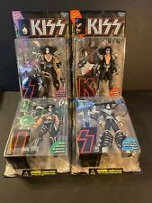New ListingLot of 4: Kiss Mcfarlane Toys Ultra Action Figures Complete Set 1997 [Brand New]