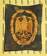 Orden Ehrenabzeichen Leistungsabzeichen Gold Tarnfleck 15 Wiederh. NEU ##F823