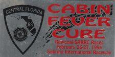 SCCA Dash Plaque 1994 Central Florida Regional-SARRC Races @ Sebring