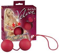 SEXY TOY PALLINE VAGINALI LOVE BALLS SFERE DELL'AMORE 3,5 cm 2 BIGLIE CON LACCIO