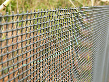 Garden Fence 1x10m Mesh Pet Fencing Dog Boarder Netting Black Plant Protection