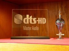DTS MASTER AUDIO ETCHED GLASS HOME THEATER SIGN