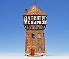 Wasserturm 1:87 Bastelbogen zum Ausschneiden für H0 Kartonmodell J.F. Schreiber