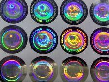 Original 3D Hologramm Siegel Aufkleber Garantiesiegel Antifake Sticker 1024 Stk.