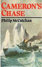 PHILIP McCUTCHAN CAMERON'S CHASE FIRST EDITION HARDBACK U/C DJ 1986