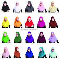 Muslim Islamic Soft Scarf Long Hijab Cover Head Shawls Headscarf Cap Underscarf