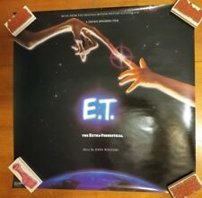 """E. T. - The Extra Terrestial US promo poster 1 sided VG+ Cond 23.5"""" x 23.5"""" D"""