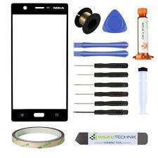 Nokia 5 Glas LOCA Schwarz ● Display Touchscreen Scheibe Frontglas