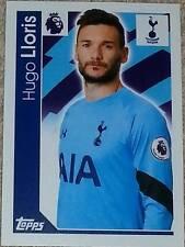 285 Hugo LLORIS Tottenham Hotspur 2016/2017 TOPPS MERLIN PREMIER LEAGUE Adesivo