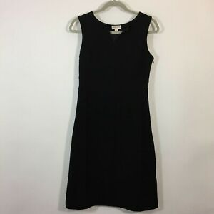 Merona Dress Women Size 2 Black Sheath