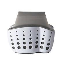 Sponge Holder Sink Caddy Soap Holder for Kitchen Plastic Storage Baskets Grey