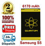 Quantum 6170mAh Extended Slim Battery For Samsung Galaxy S5 i9600 SM-G900V