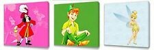 Peter Pan  set of Three Wall / Plaques canvas pictures