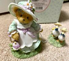 Cherished Teddies 2003 Rosalind Springtime New Friends Girl/Geese 114076