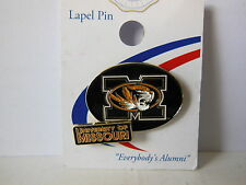 University of Missouri Tigers Officially Licensed Enamel 2 Tier Lapel Pin