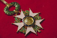 FRENCH LEGION OF HONOR  NATIONAL ORDER MEDAL - COMMANDER - GEN. GEORGE S. PATTON