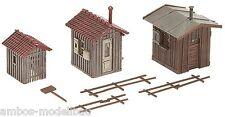 Faller 120211 H0 Streckenhäuschen / Geräteschuppen, Epoche I, Bausatz, Neu