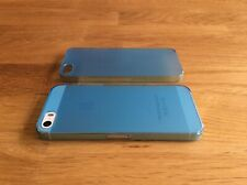 Apple iPhone 5 5S SE Ultra Slim matte Handyhülle 0,2mm Smartphone 1 Cover blau