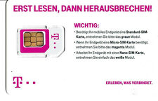 0171 Original Telekom T-D1 xTra Prepaid Simkarte D1 Ohne Guthaben Frei & Aktiv