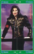 Michael Jackson 4 telefoonkaarten/télécartes  (MJ54-77 4p)