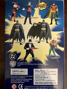 2005 Yamato DC Comics Selection Batman Gashapon Mini Figure Lot Joker Poison Ivy