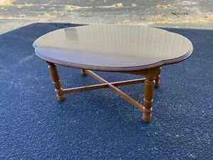Tell City Chair Company Hard Rock Maple Coffee Table