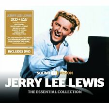 Jerry Lee Lewis & Friends DVD & 2 CDs Essential Collection Be Bop A Lula + more