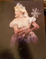 KRISTEN CHENOWITH SIGNED 8X10 PHOTO WICKED MENZEL BROADWAY W/COA+PROOF RARE WOW