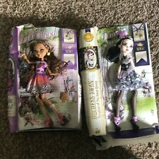 Ever After High CEDAR WOOD And duchess Swan Damaged Boxes