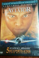 The Aviator (2005) 2-disc DVD Leonardo DiCaprio Cate Blanchett Kate Beckinsale