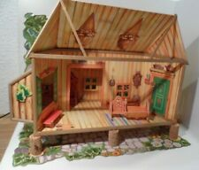 DAVID THE GNOME CARDBOARD MAKE UP MODEL HOUSE & ACCESSORIES 1980s BRB STARTOYS