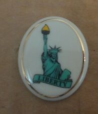 Lenox Statue of Liberty Patriotic Pin New Never Used