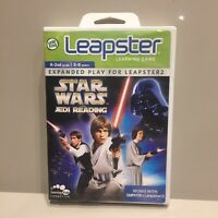 Leapster Star Wars Jedi Reading (2009) With Connect Disc