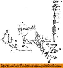 MB631669 Mitsubishi Insulator, rr shock absorber MB631669